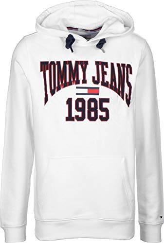Sweat Blanc Tommy Graphic Jeans capuche Essential à Homme PN8wkn0OX