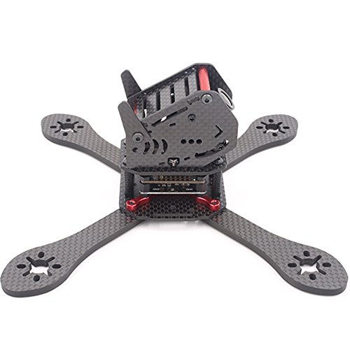 (ZMR GEPRC GEP-ZX5 190mm 4-Axis Carbon Fiber 3K Quadcopter Frame Kit with 12V 5V PDB Board For RC Frame Drone)