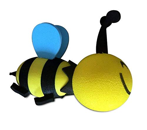 Zehaer Happy Bee Car Antenna Toppers Bumblebee Aerial Ball Antenna Topper