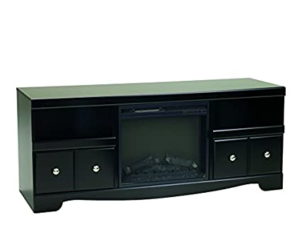 espresso ashley in electric flame entertainment en real ip fireplace furniture center dark