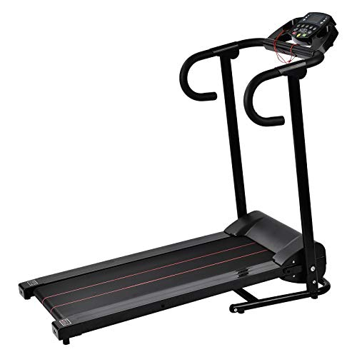 Murtisol Folding Treadmill Electric 1100W Walking Running Exercise Fitness Machine Easy Control Home Gym