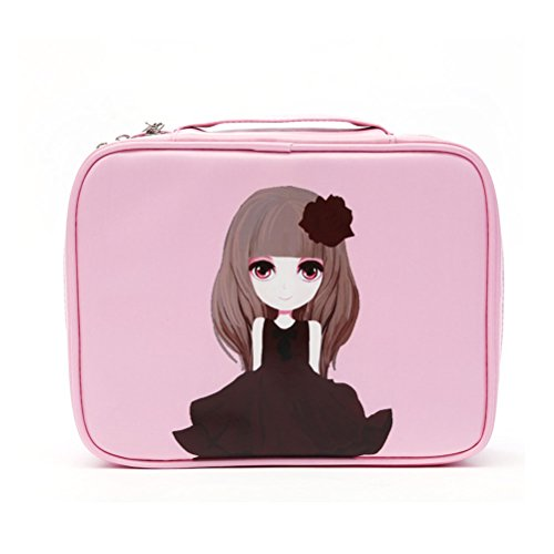 Women Travel Pockettrip Clear Cosmetic Makeup Bag Toiletry T