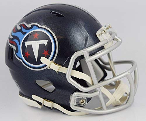 Replica Tennessee Mini Helmet (Riddell NFL Tennessee Titans Unisex Replica Mini Speed Styletennessee Titans Helmet Replica Mini Speed Style 2018, Team Colors, One Size)