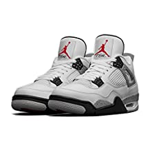 "AIR JORDAN 4 RETRO OG ""WHITE CEMENT 2016 RELEASE"" 840606-192 Basketball Men Shoe Size"