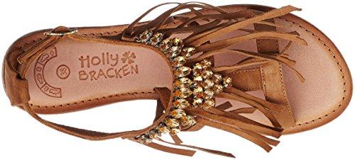 Molly Bracken Pb10p17, Sandalias con Plataforma Para Mujer Marrón (Camel)