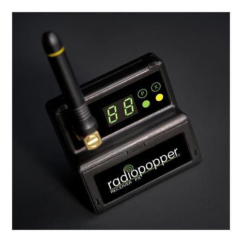RadioPopper PX-RN Receiver with Nikon Mounting Bracket (Black)