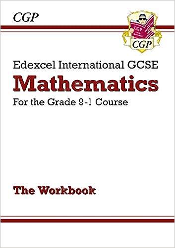 Edexcel International GCSE Maths Workbook - for the Grade 9