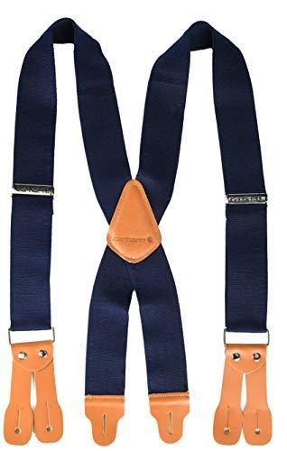 Carhartt Men's Utility Suspender, Dungaree Navy (Best Suspenders For Jeans)