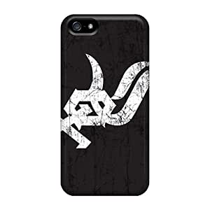 Bumper Cell-phone Hard Cover For Iphone 5/5s With Support Your Personal Customized Vivid Chicago White Sox Image LavernaCooney