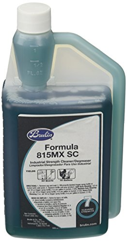 Brulin 192017-26 Formula 815 MX Cleaner/Degreaser, Super Concentrate, 32 oz