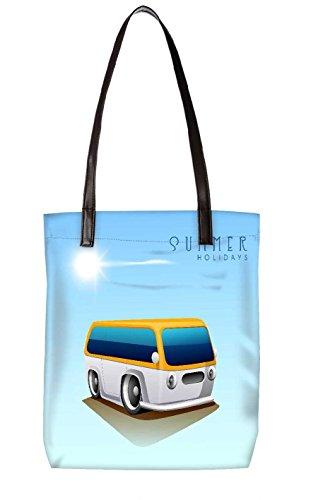 Snoogg Strandtasche, mehrfarbig (mehrfarbig) - LTR-BL-5309-ToteBag