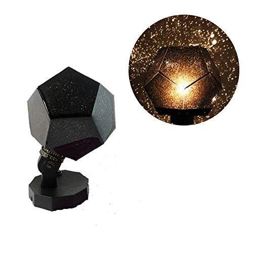 Yongan Proyector Estrellas Lámpara, 360 Grados Romántico Astro ...