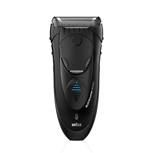 Braun Multigroomer MG5010 Bartschneider, Rasierer und Trimmer für die Bartpflege, Bodygroomer, schwarz