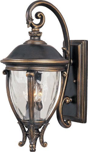 Maxim Lighting 41425WGGO Camden VX-Outdoor Wall Mount 3-Light (Camden Vx 3 Light)