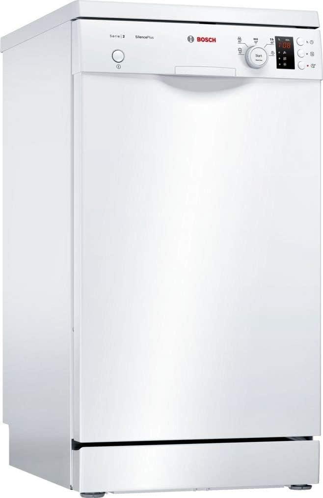 Lavavajillas - Bosch SPS25CW05E 9 servicios Extra silencioso GlassProtect Sistema antifugas