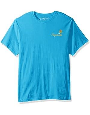 Men's Short Sleeve Less Work More Surf T-Shirt
