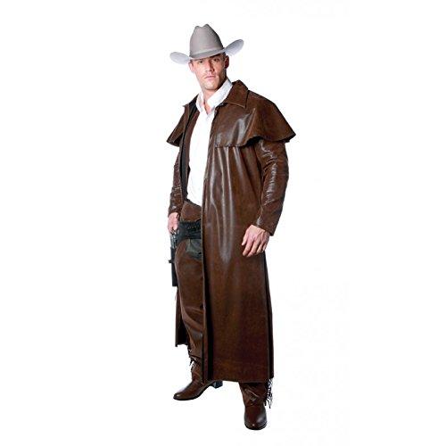Underwraps Costumes Men's Cowboy Costume - Duster Coat, Brown, XX-Large