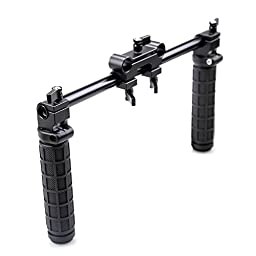 Coolhandles V5 Hand Grip Handles for 15mm Rail Rod System Dslr 15mm Shoulder Rig System Dslr Cameras Follow Focus 5d Mark Ii 60d 7d - 998