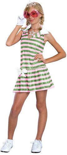 Sharpay Childrens Costumes (Sharpay Golf Dress Costume - Medium)