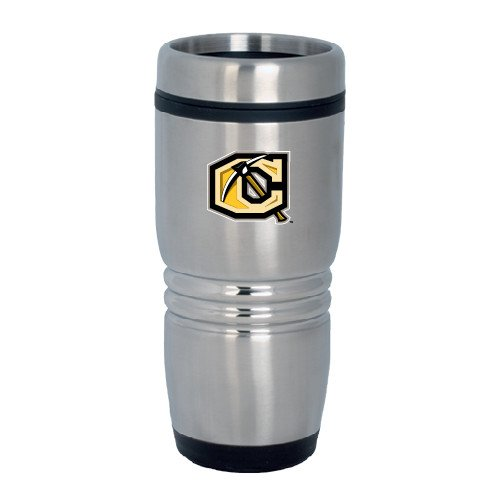 Cameron Rolling Ridges Silver Stainless Tumbler 16oz 'Official Logo' by CollegeFanGear