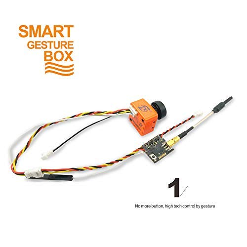 FXT Smart Gesture Box T82+FX868T Bundle, 800TVL Camera+PIT/25/200mW Adjustable Nano VTX with Smart Audio by TX