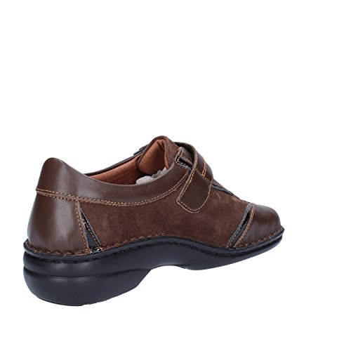 WALKSAN by SUSIMODA Sneakers Damen 37 EU Braun Leder Wildleder