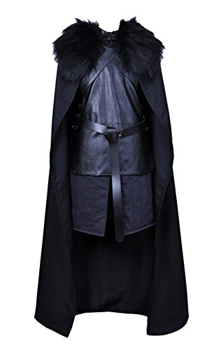FENIKUSU Game Cosplay Costume For Men Adult Halloween Party Knight Cape Outfit (Top 10 Songs For A Halloween Party)