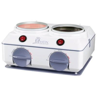 SATIN SMOOTH Professional SSW08C Double Wax Warmer Quick by Satin Smooth