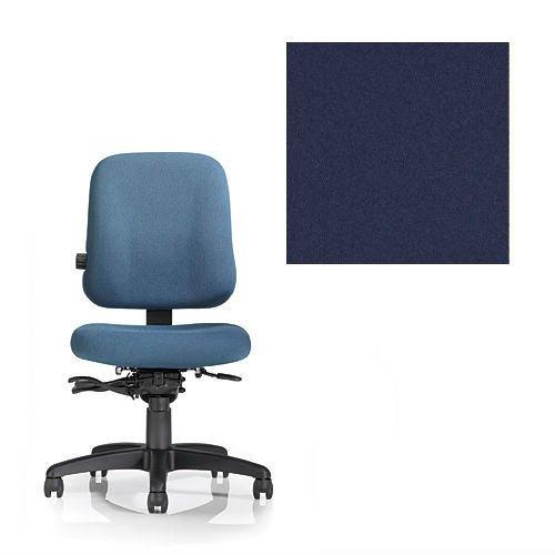 Office Master PT Collection PT74 Ergonomic Task Chair - No Armrests - Grade 1 Fabric - Celestial Titan Blue 1204 Plus Ergonomics eBook ()