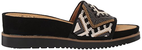 Slide Sandal Black Kiki Natural Women's Soul zvqx6O