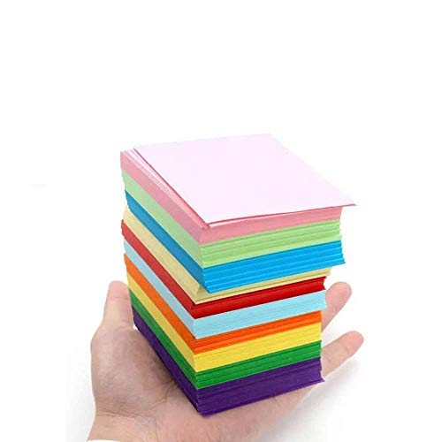 - LW Color Origami Thousand Paper Cranes Origami 2.75 inch, 10 Colors, 1000 Sheets