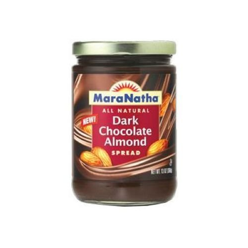 MARANATHA Dark Chocolate Almond Spread, 13 OZ