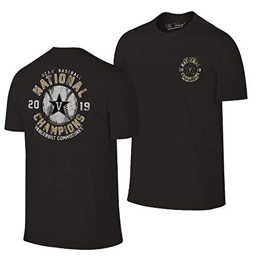 Vanderbilt Commodores 2019 College World Series Champions Black T-Shirt - Series Champions World