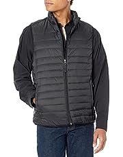 Amazon Essentials Mens Lightweight Water-Resistant Packable Puffer Vest