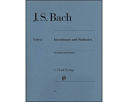 J.S. Bach: Inventions and Sinfonias BWV 772-801