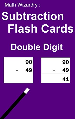 Math Wizardry: Subtraction Flash Cards - Double Digits]()