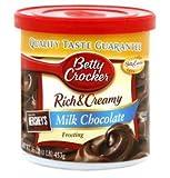 Betty Crocker Rich & Creamy Frosting - Milk Chocolate - 16 oz - 3 pk