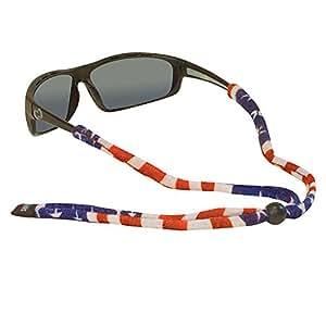 Chums Original Cotton Standard End Eyewear Retainer Colors, American Flag