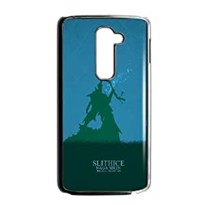 LG G2 Cell Phone Case Black Defense Of The Ancients Dota 2 KEEPER OF THE LIGHT 001 LWY3533395KSL