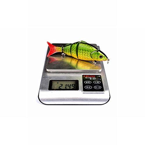 Amazon com : Yiitay Tackle 3D Fishing Swim Lure 22 g/12 8cm