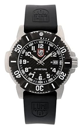 045b7520049 Image Unavailable. Image not available for. Color  Luminox Men s 6101 EVO  Steel SEAL Watch