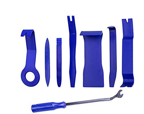 Auto Trim Removal Tool Kit, Ezire 8 Pcs Auto Trim Removal Tool Kit for Car Dash Radio Audio Installer Pry Tool