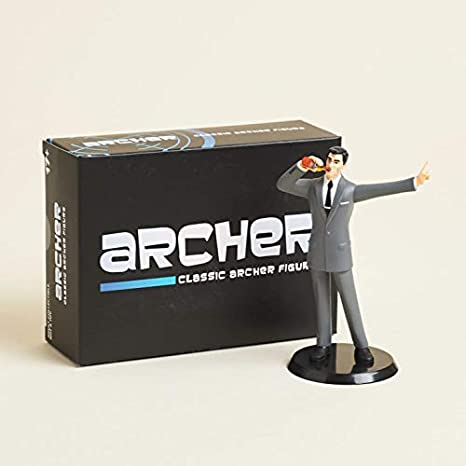 Lot of 4 Archer Classic Vinyl Figure Loot Crate EXCLUSIVE Sealed