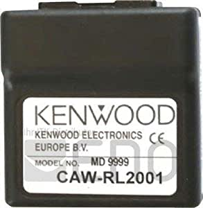 Kenwood adaptador para Lenkradmando a distancia (CAW-RL2001) - apropiado para CAW-AR1330, CAW-DW1300, CAW-CV1440, CAW-SZ1160, CAW-FD7500, CAW-FD7070, CAW-FD7510, CAW-HD1470, CAW-HD1480, CAW-HD1540, CAW-HY1231, CAW-HY1580, CAW-KI1520, CAW-LR7320, CAW-MZ7460, CAW-MR7390, CAW-NS7700, CAW-RN7120, CAW-NS1510, CAW-CP7190,