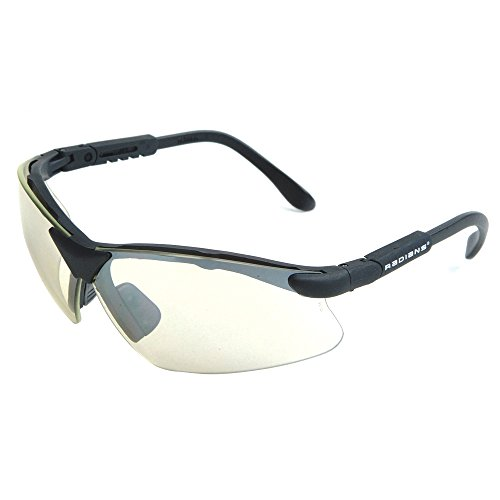 Radians Revelation Protective Shooting Glasses (Ice Lens/Black (Best Radians Eye Glasses)