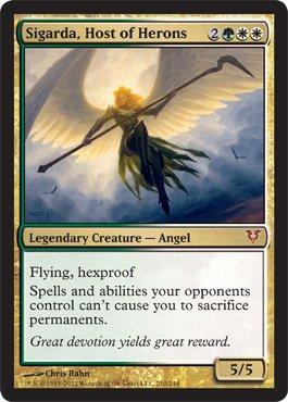 Free Magic: the Gathering - Sigarda, Host of Herons - Avacyn Restored