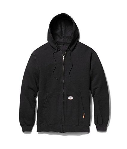 rasco-fr-mens-100-cotton-hooded-sweatshirt-1150-oz-l-black