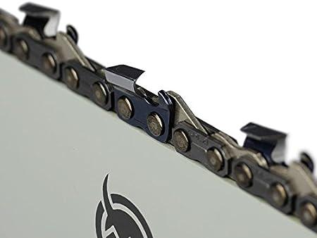 """Schwert 2 Ketten passend für Husqvarna 340 38 cm 325/"""" 64 TG 1,5 mm Sägekette"""