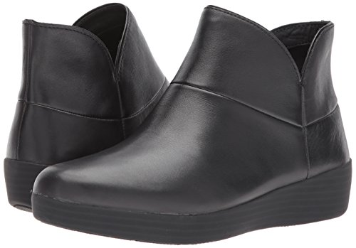 FitFlop Women's Supermod II Leather Ankle Boot, All Black, 11 M US by FitFlop (Image #6)