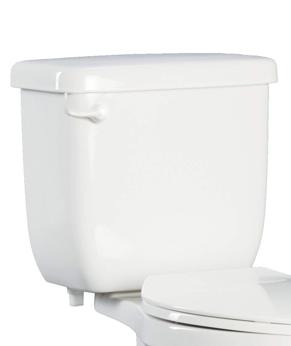 PROFLO PF5112HEWH High Efficiency Toilet Tank Only - Left Mounted Trip Lever by ProFlo